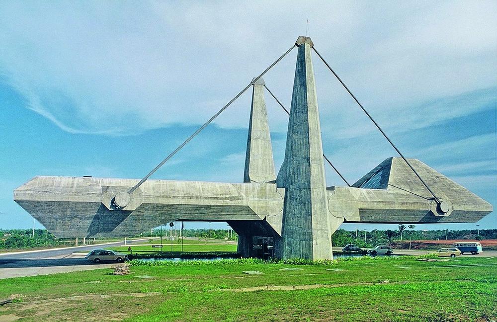 Centro de exposições na Bahia