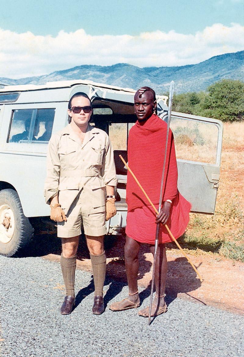Chiquinho faz turismo em MalaMala, reserva na África do Sul