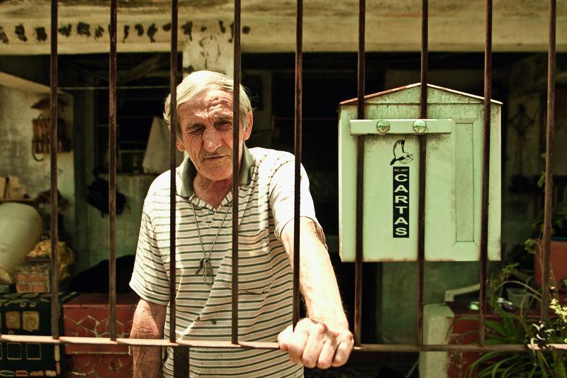 Zicão (esq.), amigo da família de Lula