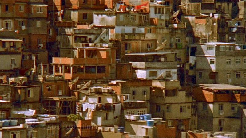 Detalhe da favela