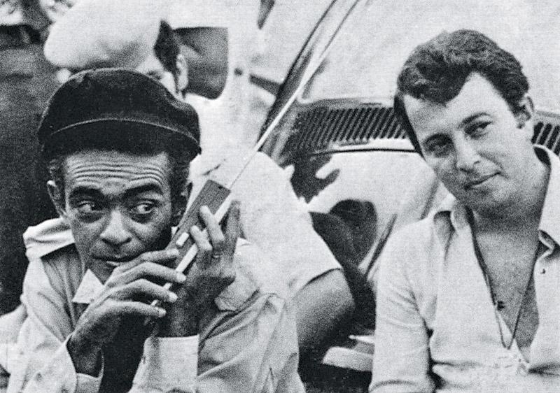 com Chico Anysio no início dos anos 70