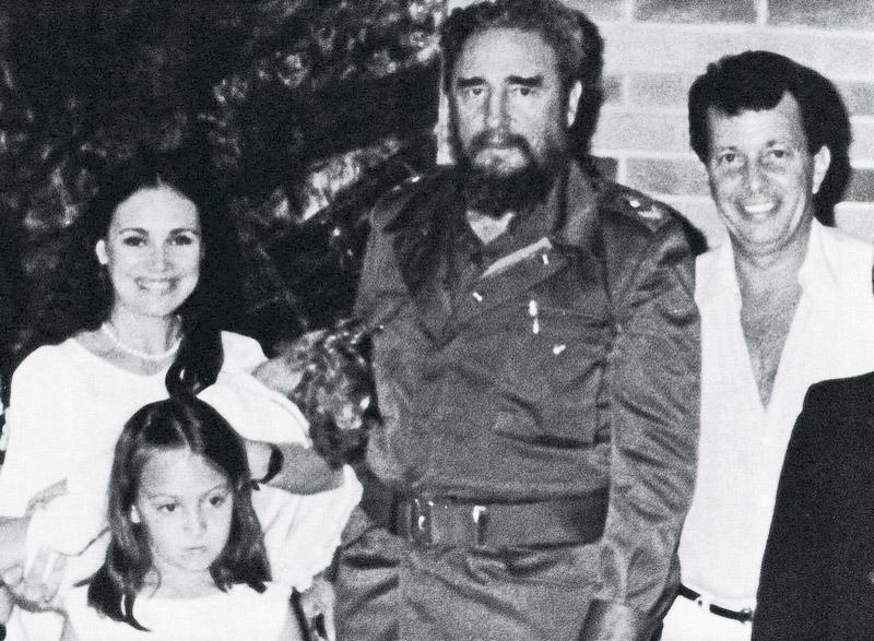 com Regina Duarte e Fidel, admirador de Malu mulher;