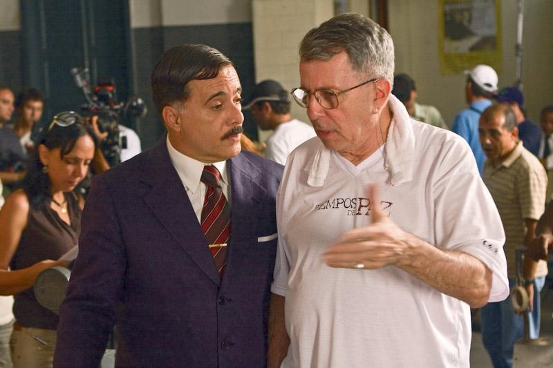 Dirigindo Tony Ramos em Tempos de paz (2009)