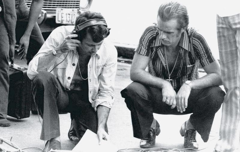 Daniel com Francisco Cuoco em Pecado capital, 1975