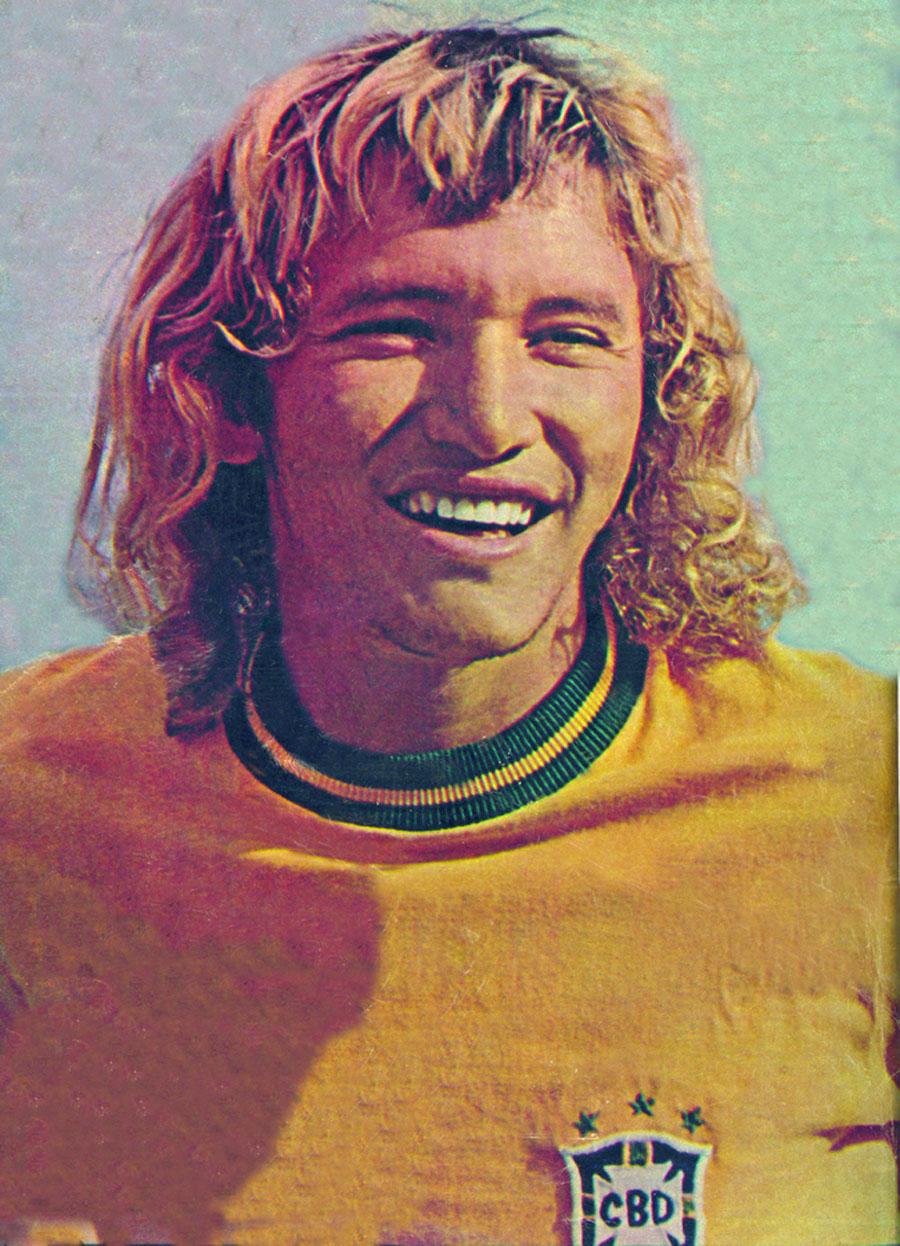 Vestindo a amarelinha em seu auge, nos anos 70