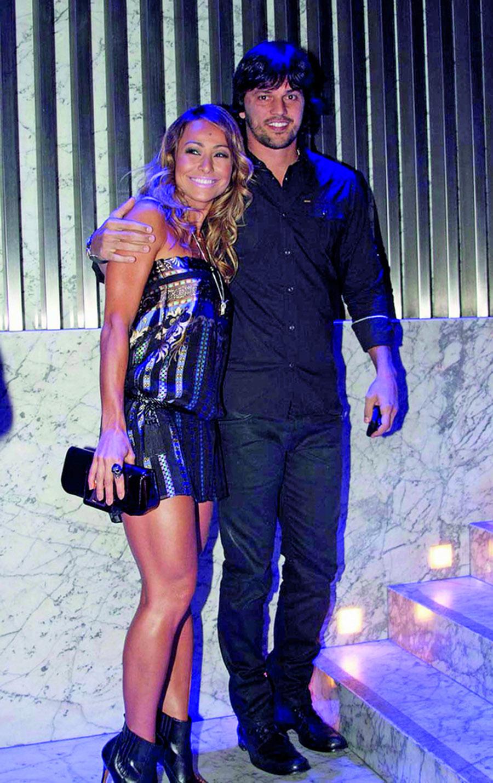 Sabrina com o namorado, o deputado Fábio Faria (PMN-RN)