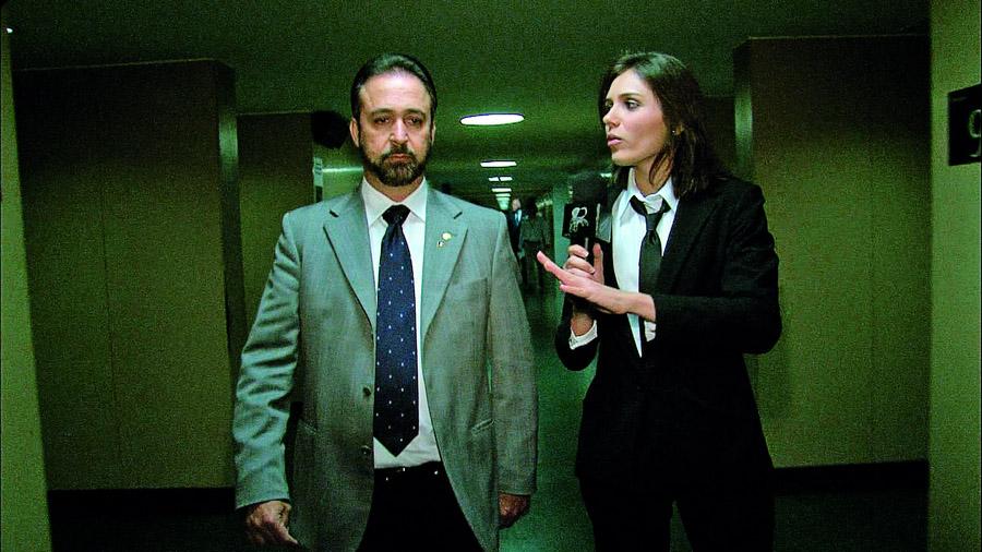 """Monica com o deputado Sérgio Moraes, da máxima """"estou me lixando pra opinião pública"""""""