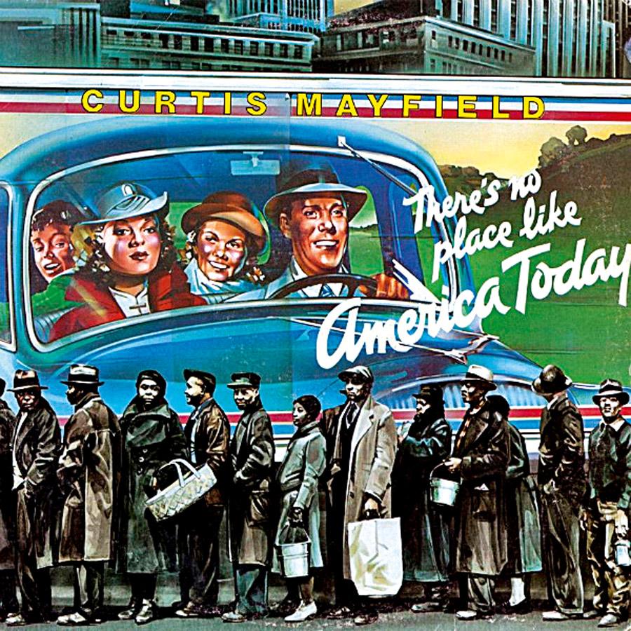15 A triste realidade da sociedade negra e branca ilustra a capa do disco de Curtis Mayfield e as letras que se revezam entre o protesto e o amor