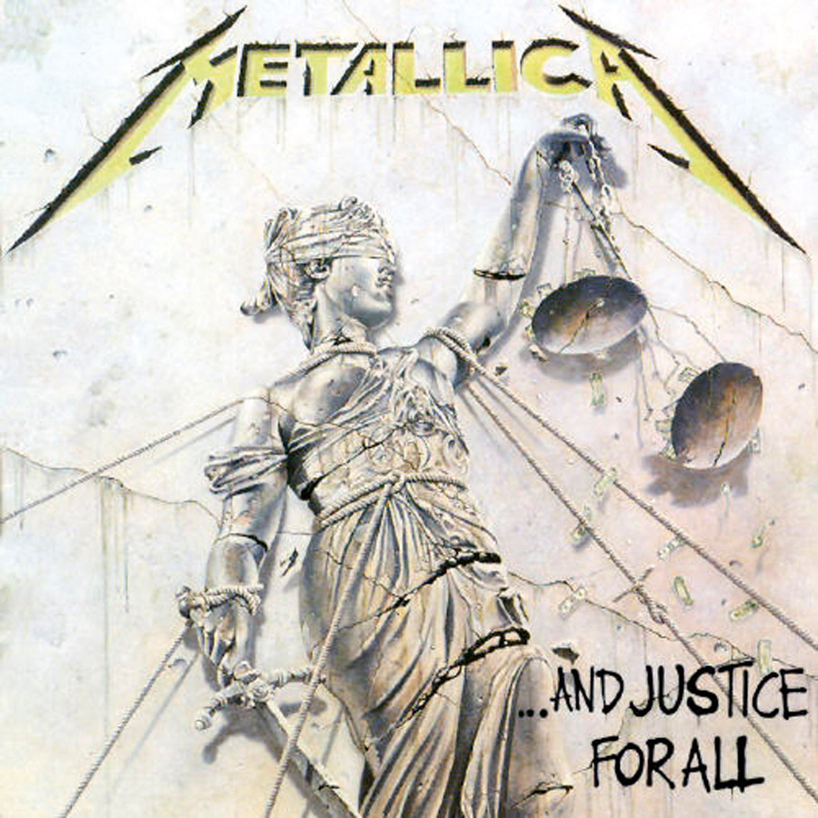 """6 Um disco com letras apocalípticas sobre uma sociedade em declínio carrega o primeiro grande êxito do Metallica, a balada-metal """"One"""""""