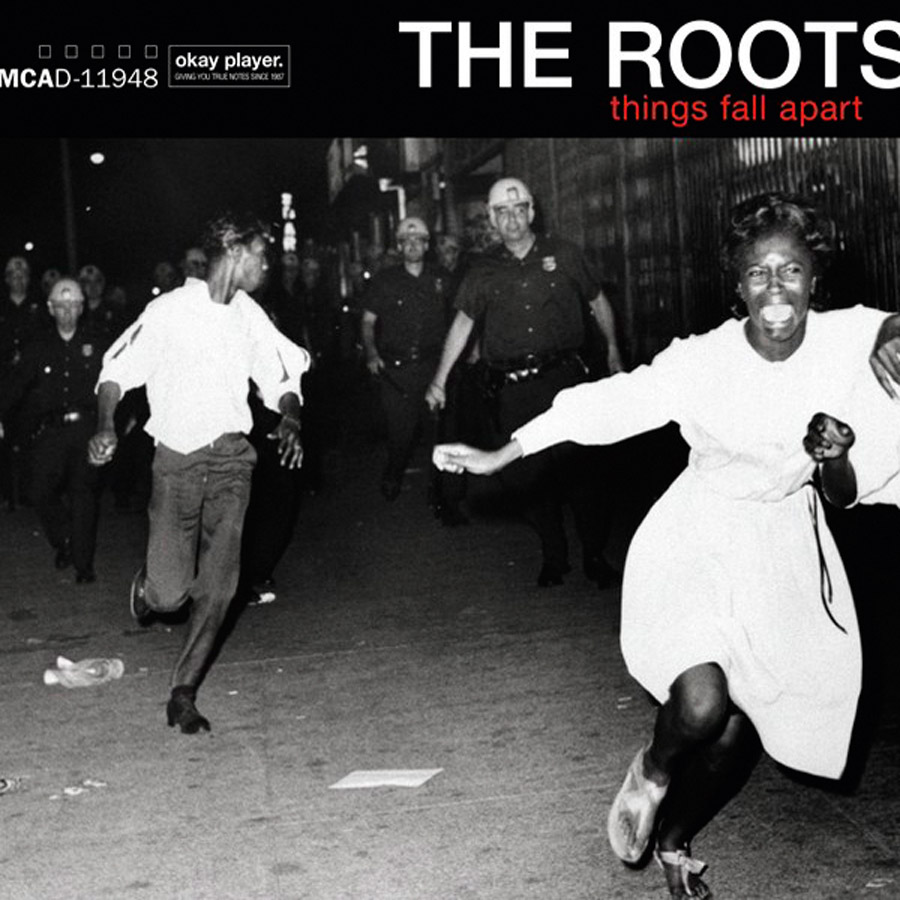 7 The Roots é uma banda de hip-hop capaz de contemplar as raízes negras e o futuro do rap