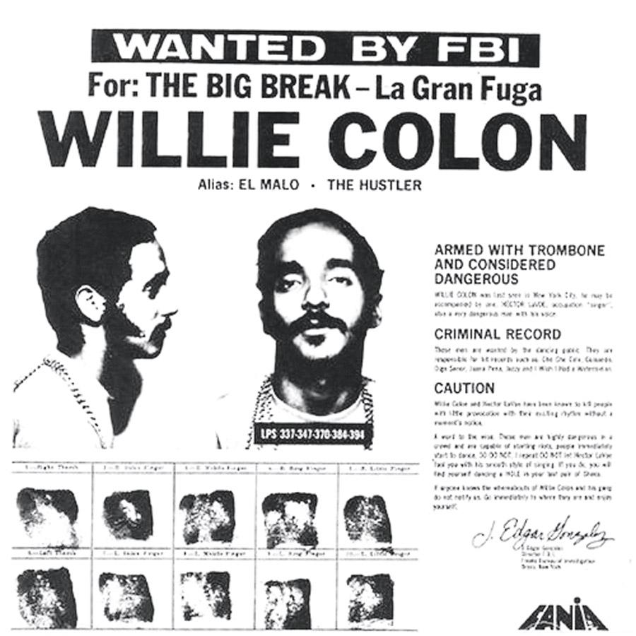 8 Sempre com capas provocativas, Willie é um dos responsáveis pela força mundial da Salsa