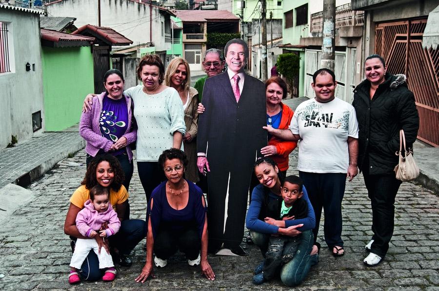 A vila recebe Silvio Santos