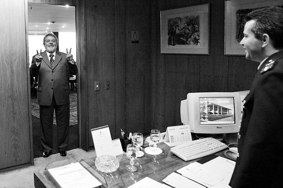 O homem em seu gabinete