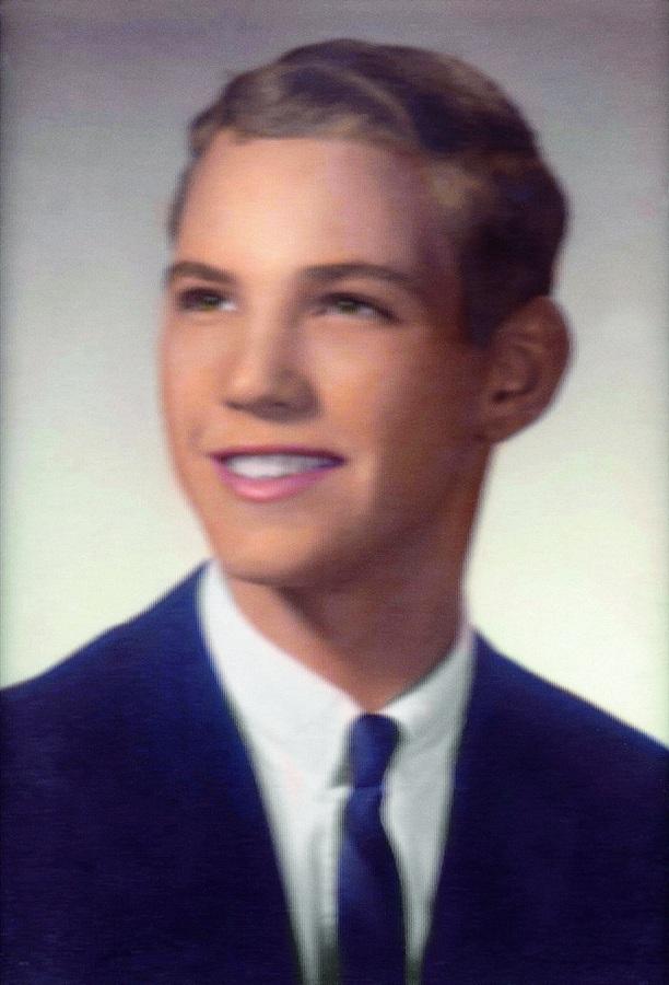 O jovem herdeiro no começo dos anos 60