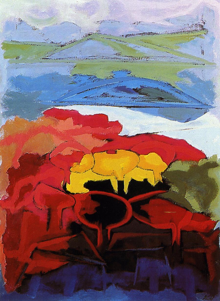 Pintura de Jorge Bussab