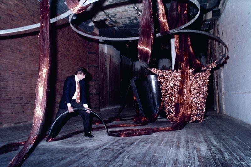 Palíndromo Incesto, exposição em Nova York, 1994
