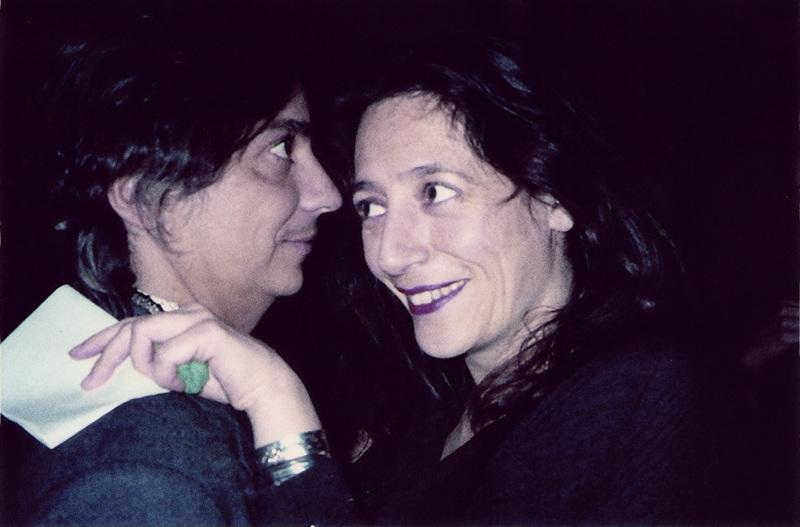 Com a amiga e curadora Catherine David, da Documenta de Kassel