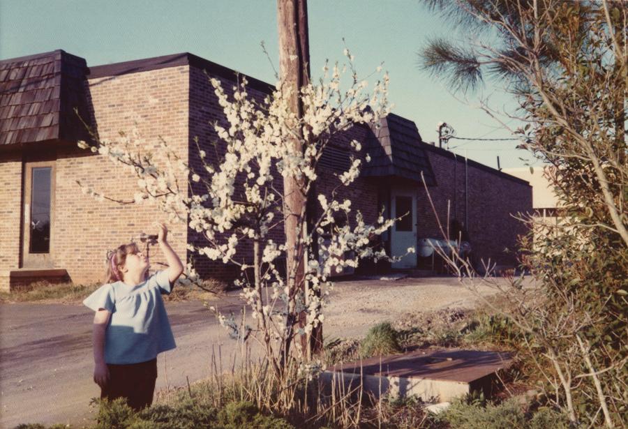 Em Athens, EUA, 1974; jovem, acadêmica, ainda longe da academia