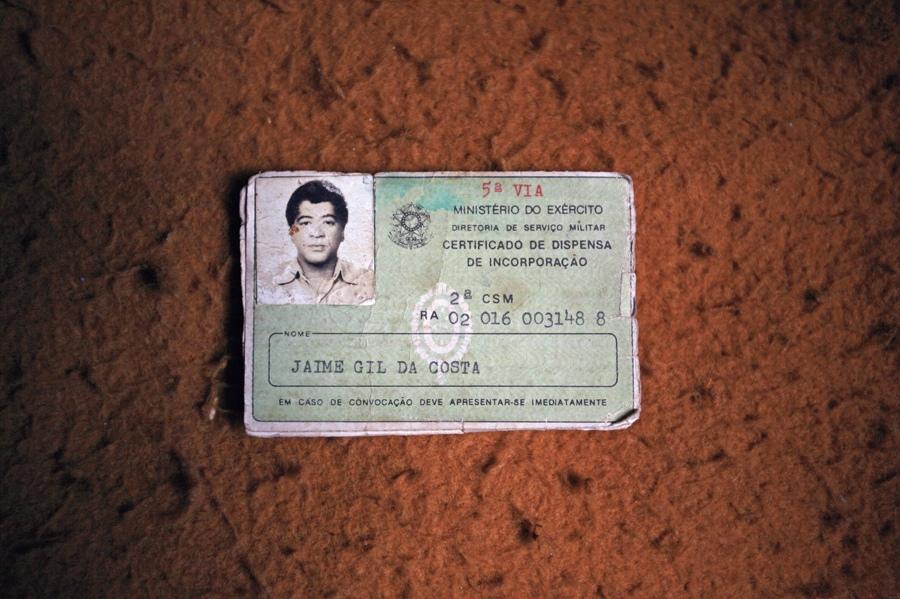Os únicos documentos de Jaime Gil da Costa, nosso Gil Brother.
