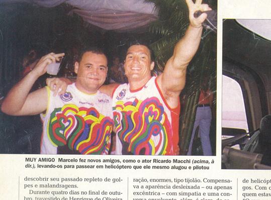 """Marcelo Nascimento e o """"cigano Igor"""" na imprensa"""