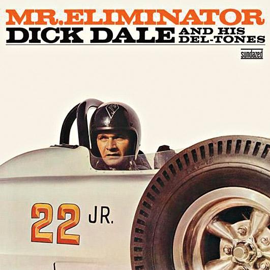 13. No começo dos anos 60, discos sobre carros rápidos estavam ficando tão populares quantos os de surf entre os adolescentes. Dick Dale acelerou nessa direção com o álbum Mr. Eliminator