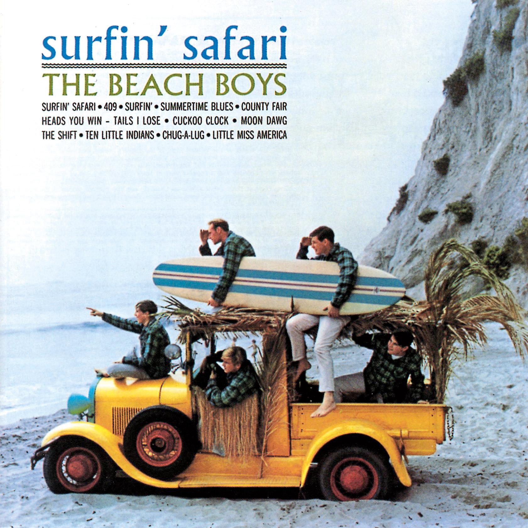 15. Surfin' Safari é o disco mais clássico da fase menos pretensiosa dos Beach Boys