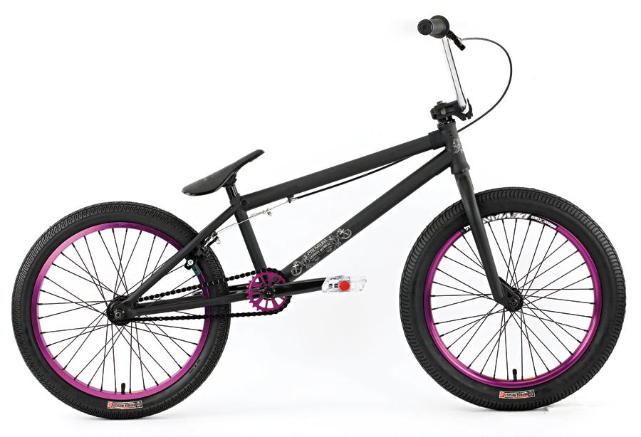 Premium Garret, R$ 2.350  Bike para street com quadro Premium Deathtrap 100% cromoly, pedivela tubular 175 mm, pneus Premium Refused Resist e aros Alienation - dracbmx.com