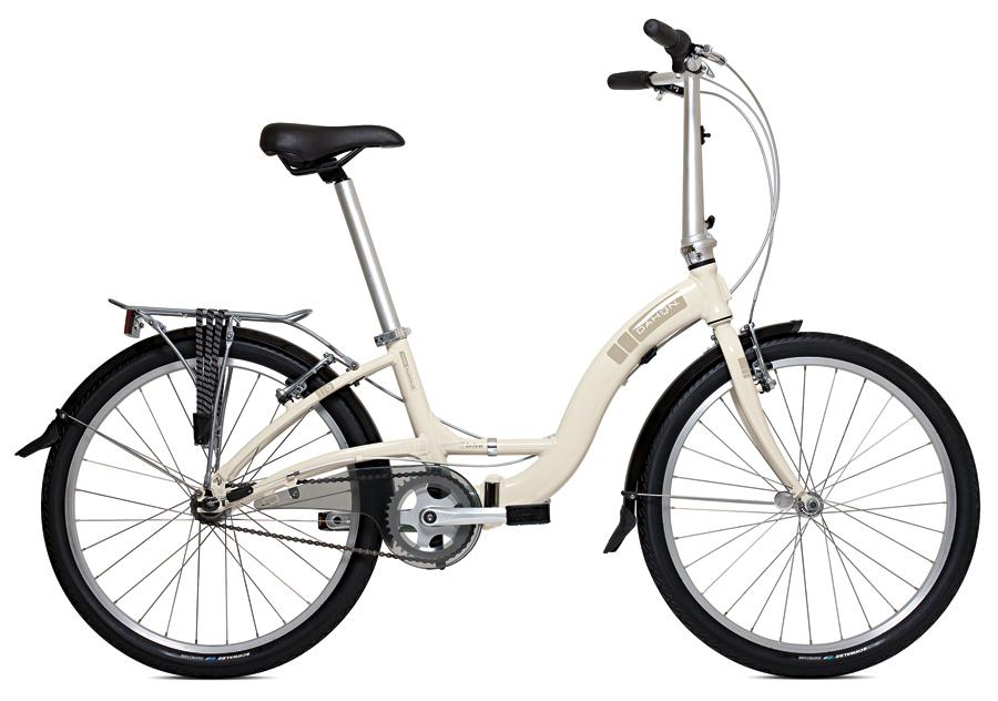 """Dahon Briza D3, R$ 2.499  Vem com rodas 24"""", maiores que as dobráveis comuns. Possui tecnologia NoLift, que a torna mais fácil de dobrar  dahon.com.br  fixas"""