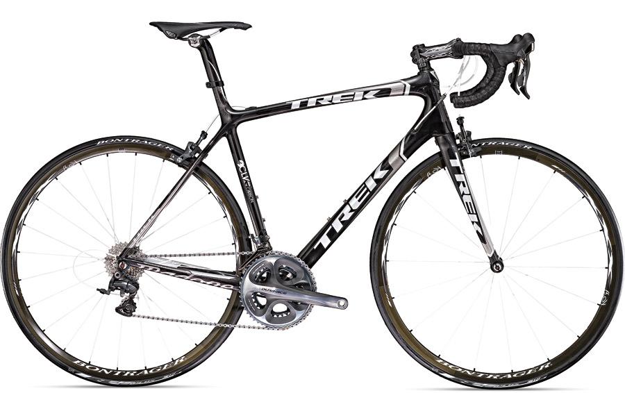 Trek Madone 6.9 SSL, R$ 24.360  Com quadro de fibra de carbono de 850 g e outros componentes de alta performance, a bike de competição fica abaixo dos 7 kg  trekbikes.com.br