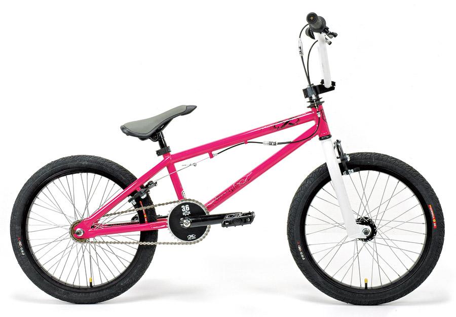 BMX: Pequenas, sim; infantis, jamais. Também chamado de Bicicross ou Cross, a modalidade baseada em saltos e curvas está nas olimpíadas. Pro X Absolut, R$ 1.250  Bike para street com quadro Absolut 20,75 Pro X e engrenagem 36 dentes alumínio- lojabmx.com