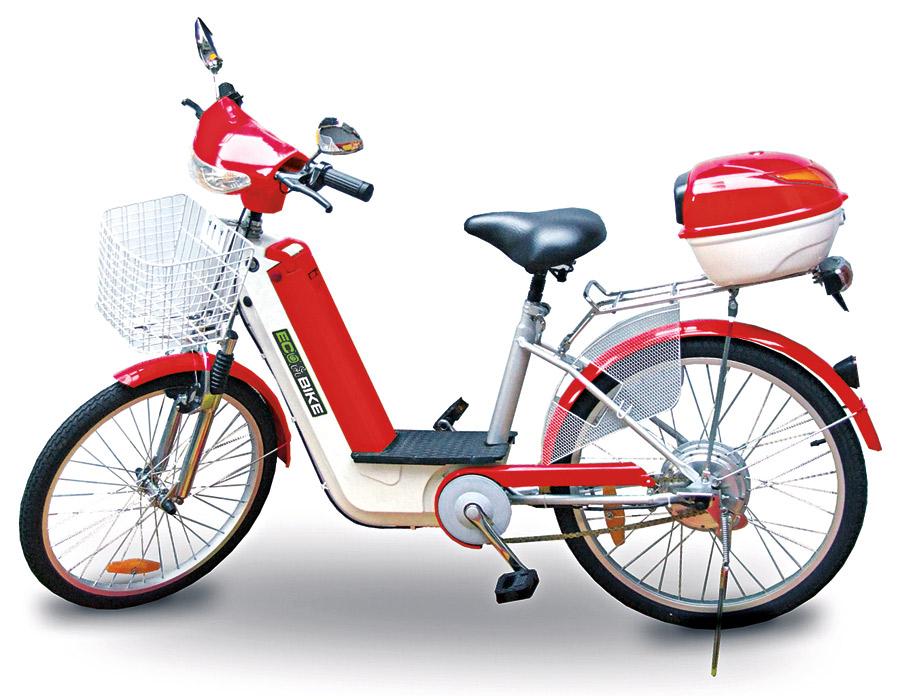 Ecobike City 250, R$ 1.999  Com autonomia de até 40 km, tem bateria portátil que pode ser carregada na tomada, bagageiro, retrovisor, buzina, pisca e farol -ecobike.com.br