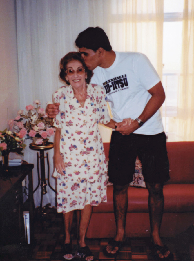 Com a avó