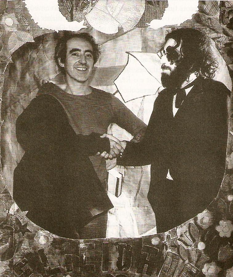 Registro do irmão Luiz Antônio, assassinado em 1987: quando encenaram Pão e circo (1970)