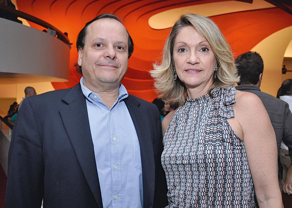Francisco Mesquita e Fernanda Cintra