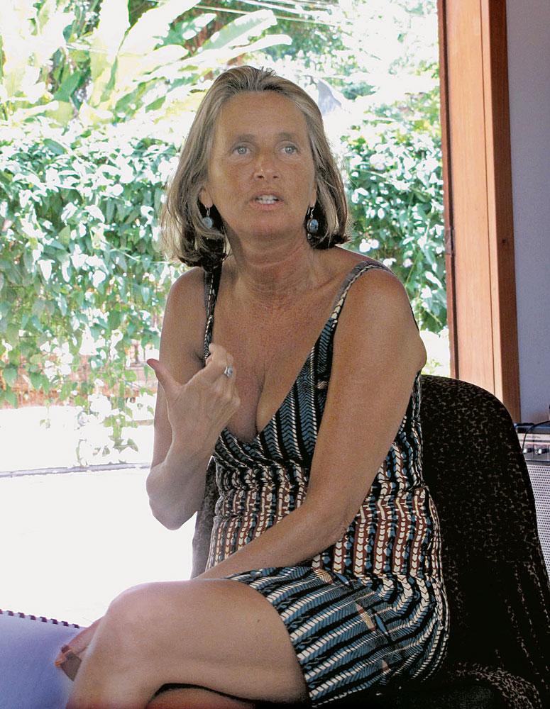 May em curso da Educação Gaia, no Rio, 2010