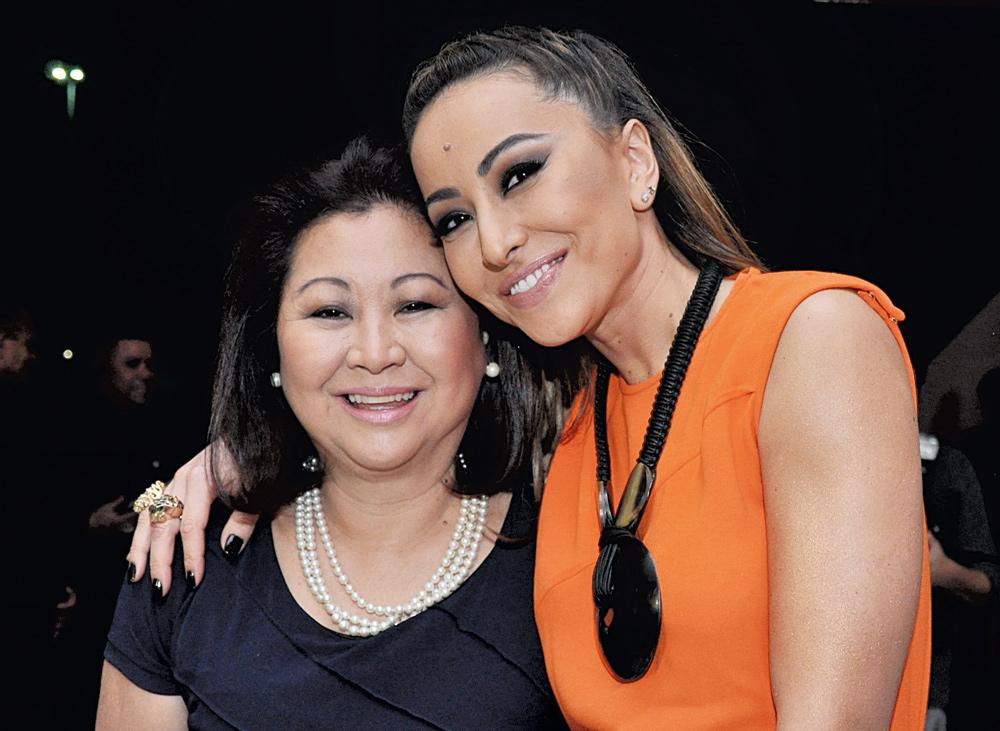 Kika e Sabrina Sato