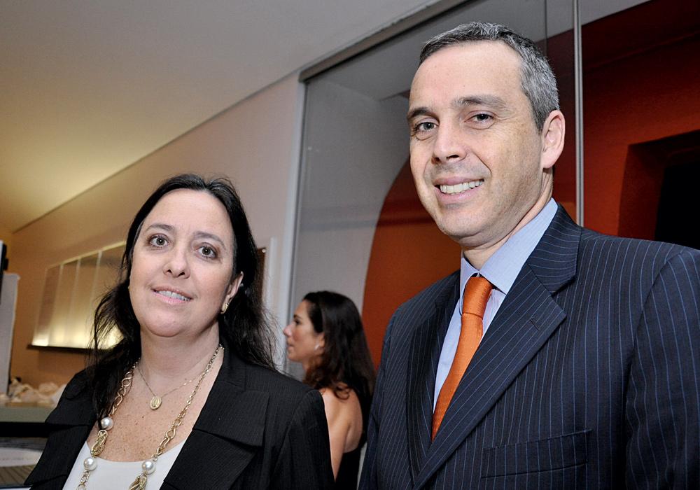 Fernando Chacon e Andreia Cordeiro
