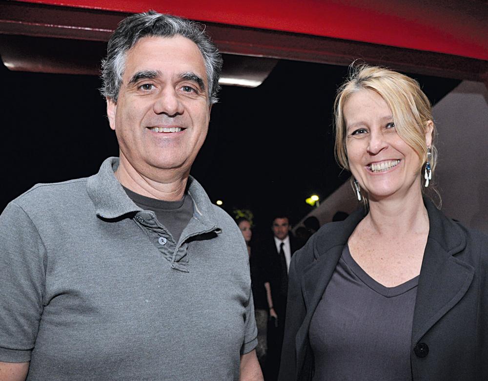 Sergio Lopes e Silvia Prado