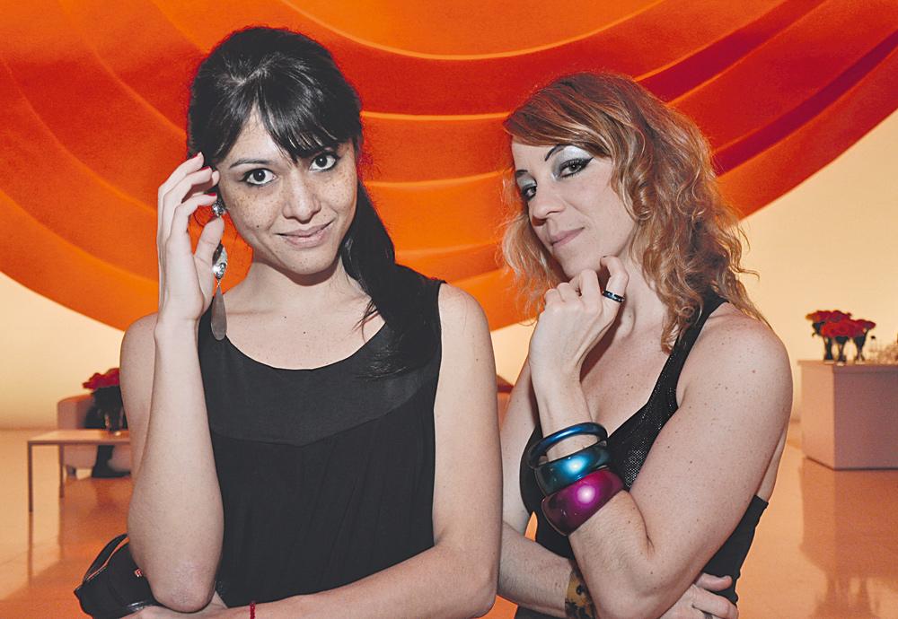 Camila Fudissaku e Karina Buhr