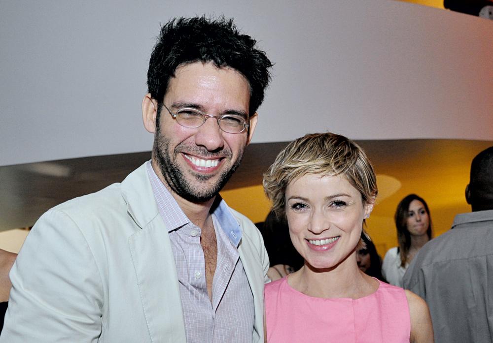 Fernando Luna e Regina Parra