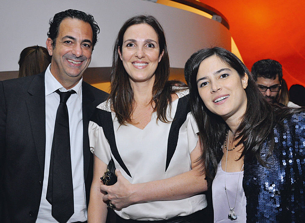 Fernando Beer, Rafaela Garcez e Jéssica DeSilva