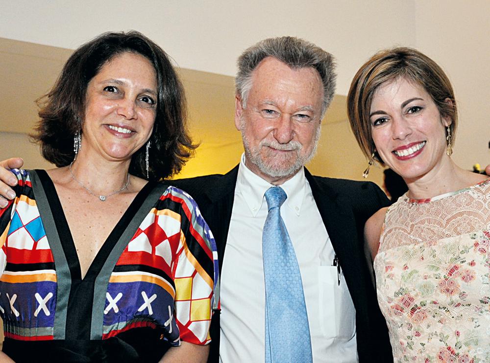 João Candido Portinari, Maria Portinari e Adriana Naves