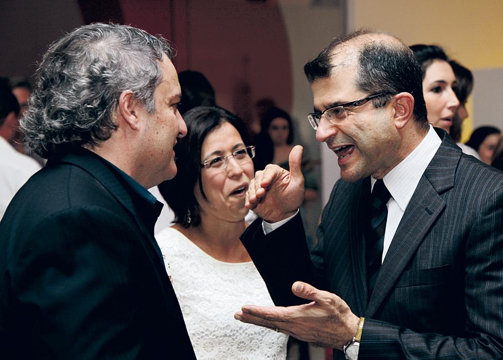 Paulo Lima, Karla e Ricardo Gandour