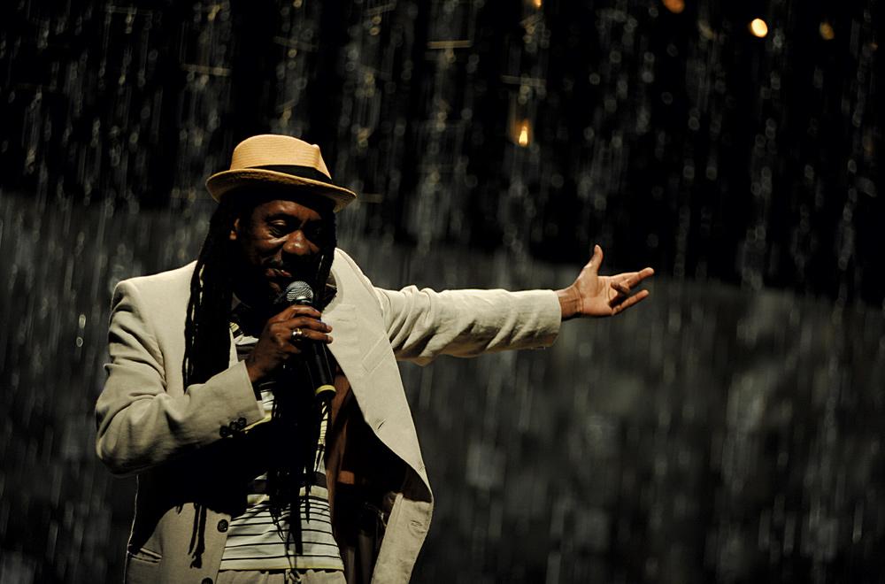 o show de Luiz Melodia