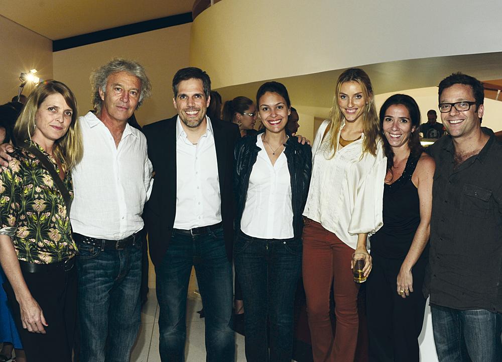 Sibylla Motta, Carlos Motta, Paulo Kakinoff, Fernanda Telhada, Marina Sanvicente, Juliana Andrade e Márcio Santoro
