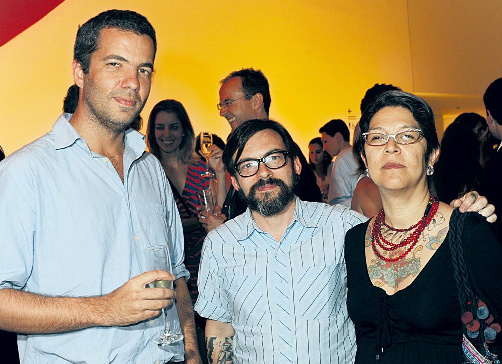 João Wainer, Baixo Ribeiro e Mariana Martins