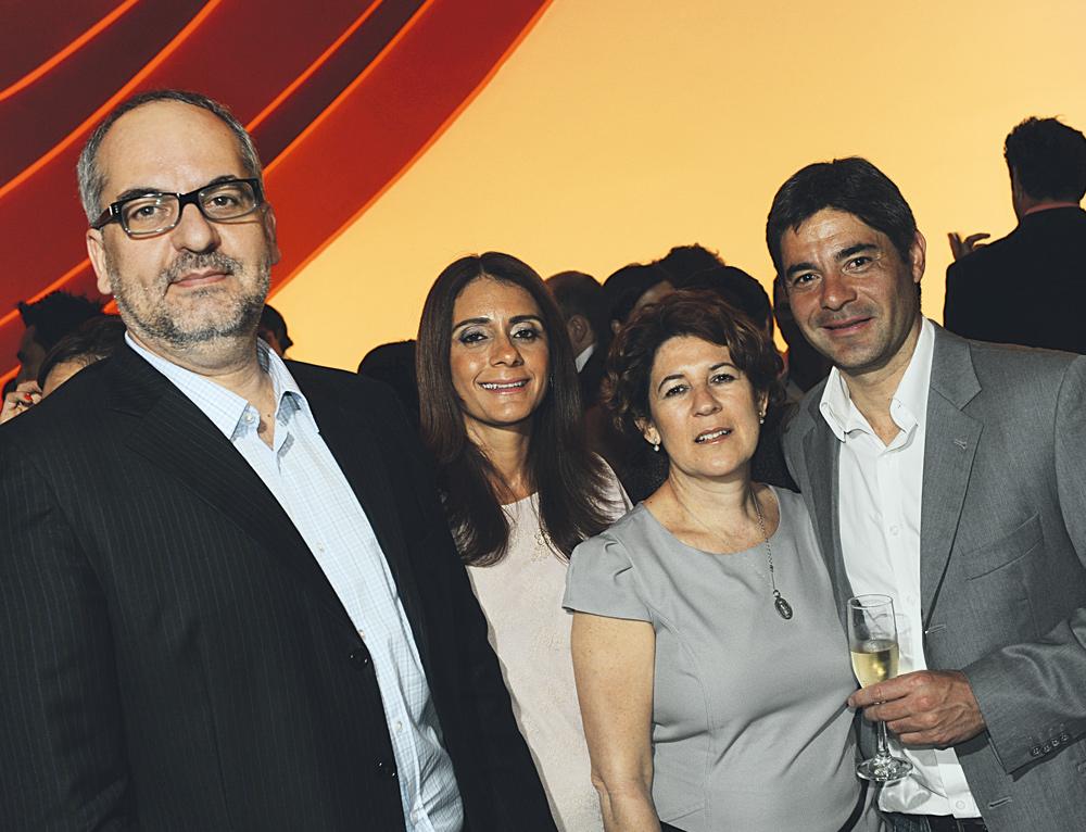 Rodrigo Capdeville, Alexandra Delibero, Zeiry Dias e Heitor Pontes