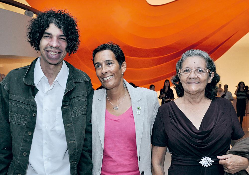Pablo Capilé, Maurizélia e Lindalva de Brito e Silva