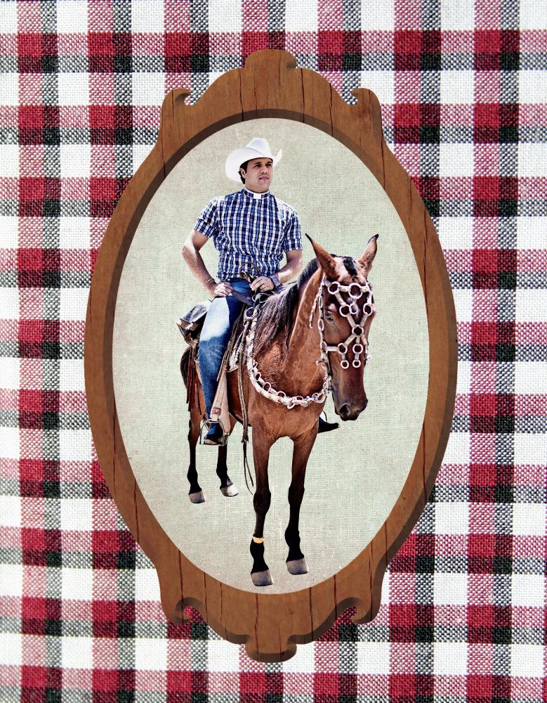 Alessandro Campos, o padre cowboy