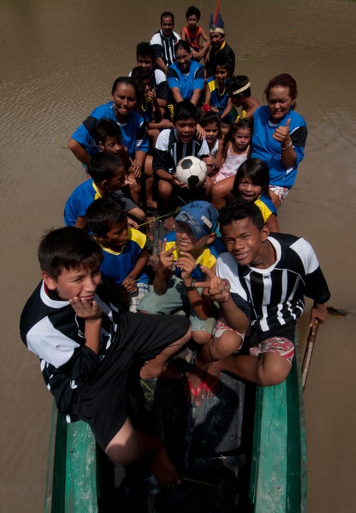 A canoa do Baré F.C.